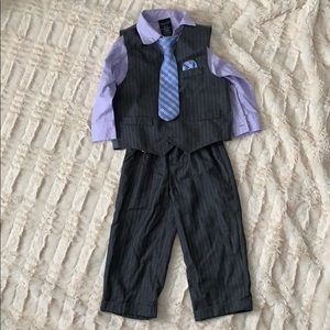 Nautica 2T 4 piece suit